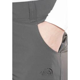 The North Face Exploration Pantalones convertibles Tamaño Corto Mujer, asphalt grey